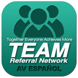 TEAM Referral Network Español Mobile APP