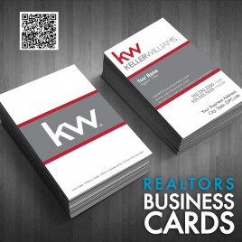 Business Card Keller Williams Template 04121514