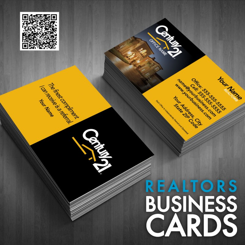 Business Card Century 21 Template 04151517