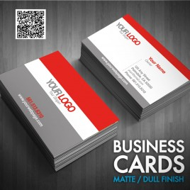 Business Cards Matte (Dull Finish)
