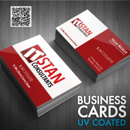Business Cards UV Coated