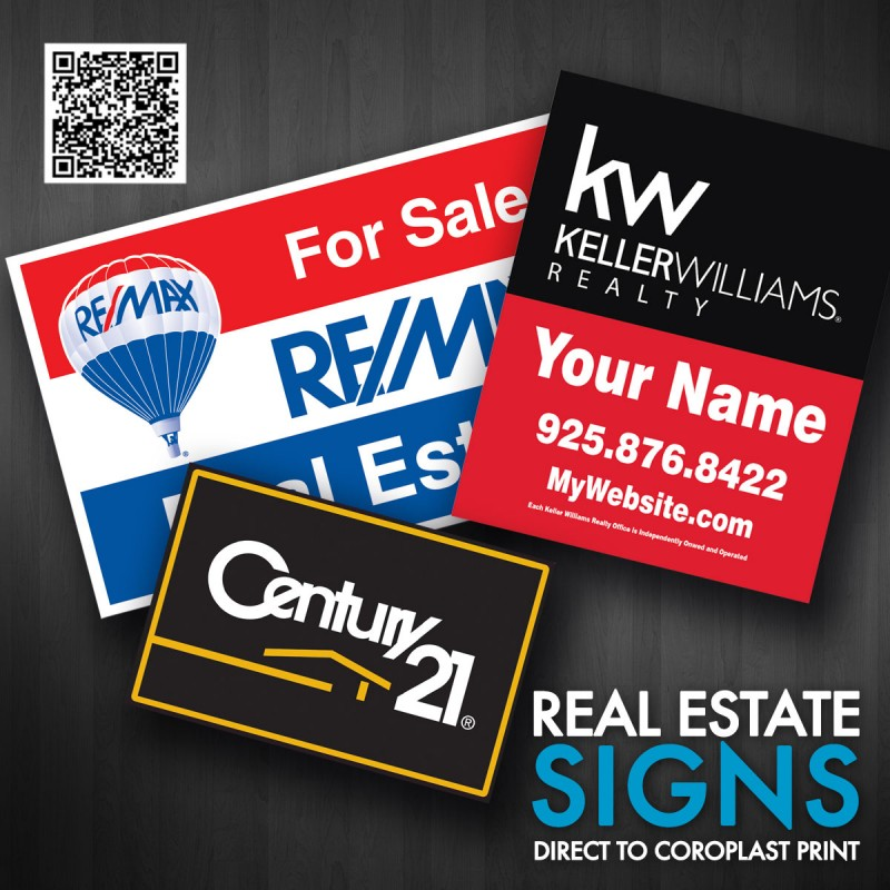 """Real Estate Sign 24"""" X 18"""""""